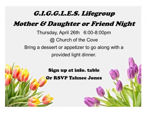 G.I.G.G.L.E.S. Life Group